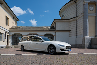 Maserati bianco