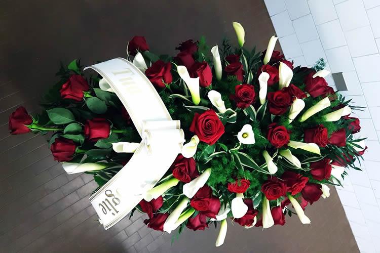 Centrocassa floreale in omaggio