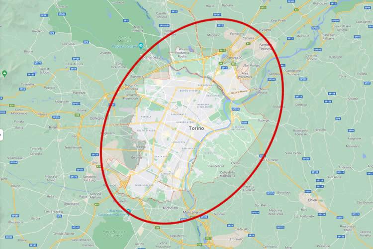 Nessuna maggiorazione chilometrica per Torino e cintura